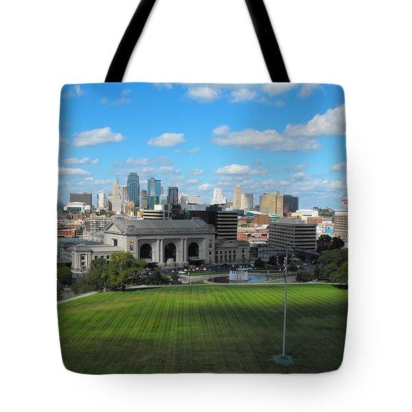 Kc Skyine Tote Bag