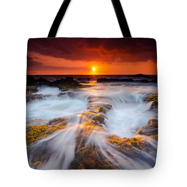 Keahole Point Sunset Tote Bag