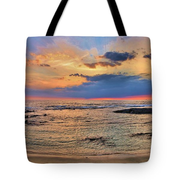 Tote Bag featuring the photograph Keahuolu Point by DJ Florek