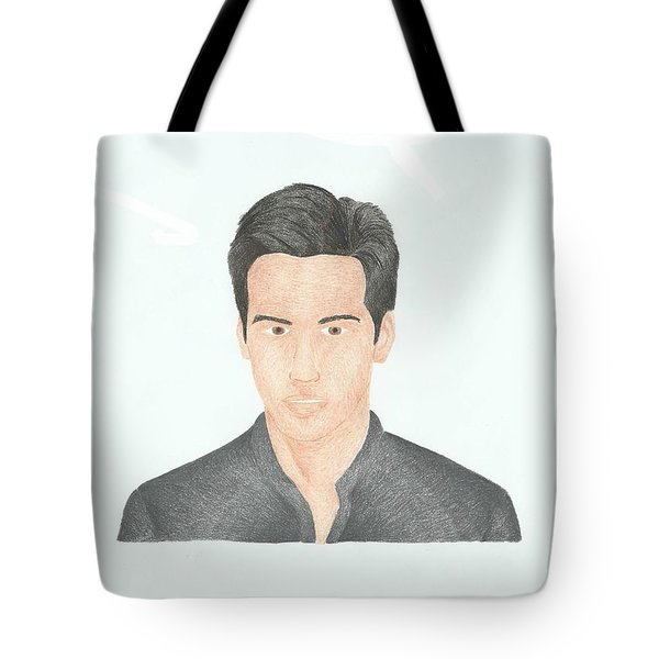 Keanu Reeves Tote Bag