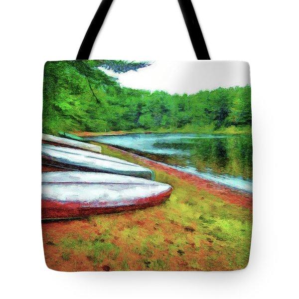 Kearney Lake Beach Tote Bag