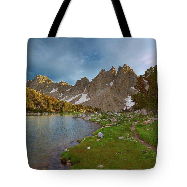 Kearsarge Lakes Trail Tote Bag