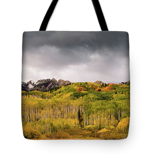 Tote Bag featuring the photograph Kebler Pass by Stephen Holst