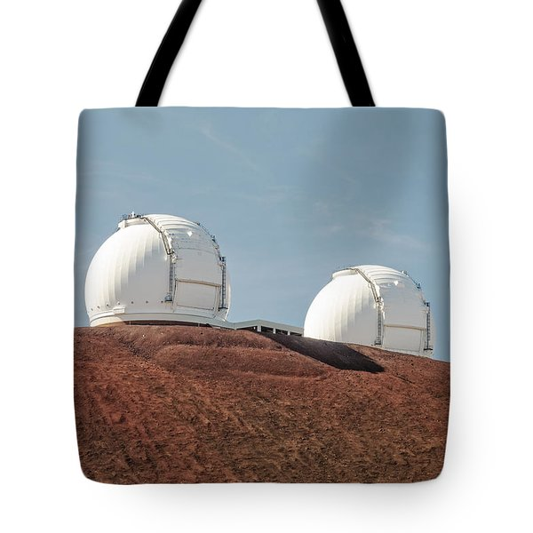 Keck 1 And Keck 2 Tote Bag