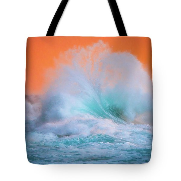 Ke'e Fan Wave Tote Bag