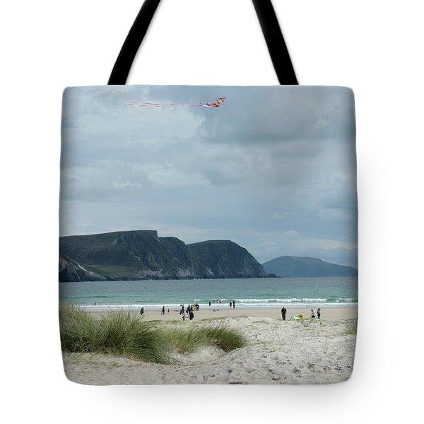 Keel Beach Achill  Tote Bag