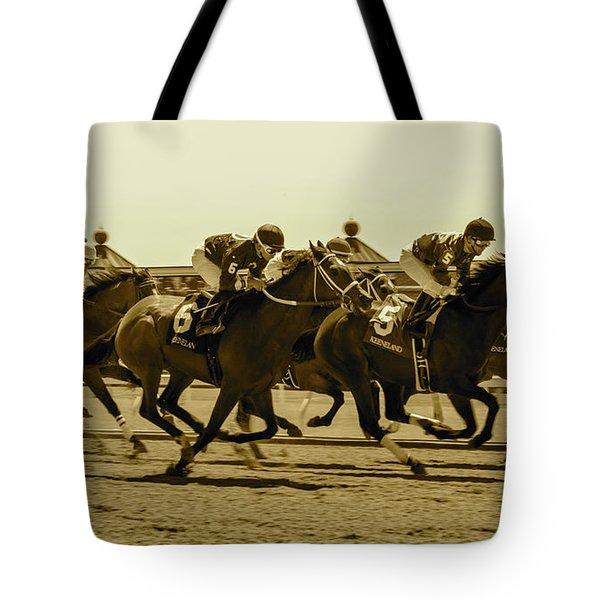 Keenland Sepia Tote Bag