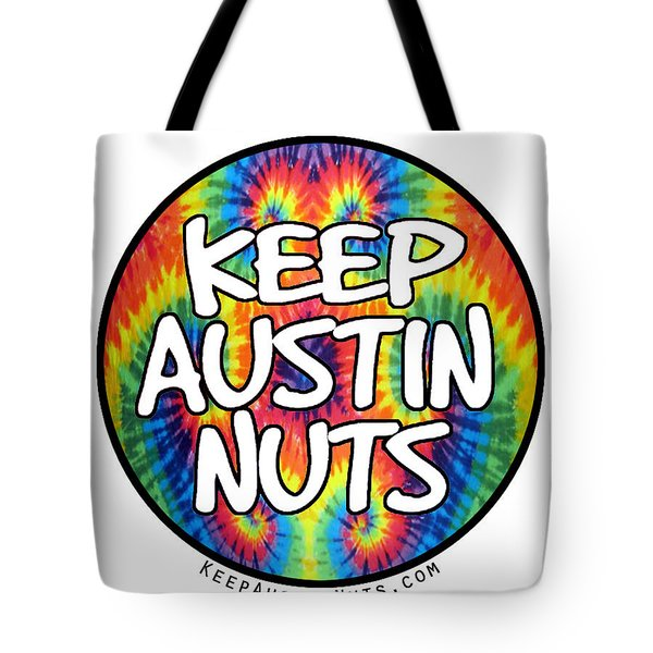 Keep Austin Nuts Tote Bag