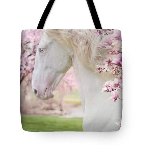 Keep Calm Spring Is Coming Tote Bag