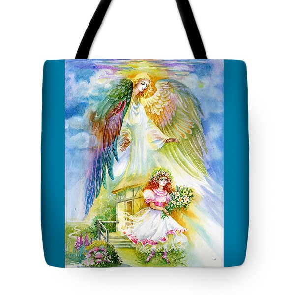 Keep Her Safe Lord Tote Bag by Karen Showell