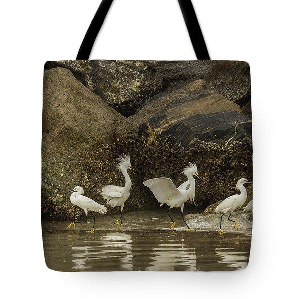 Keep On Dancing Tote Bag