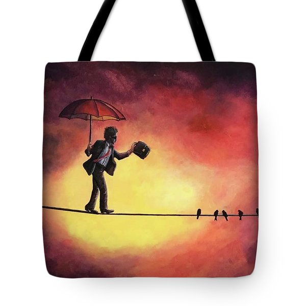 Keep The Balance Tote Bag