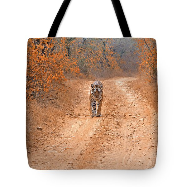 Keep Walking Tote Bag by Pravine Chester