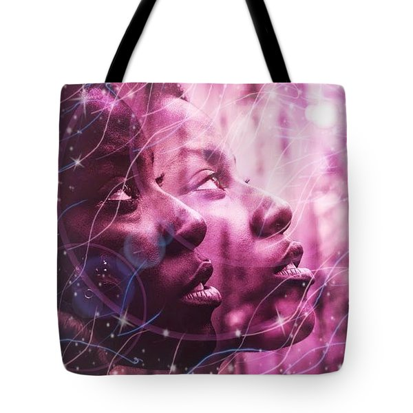 Keep Your Head To The Sky Tote Bag