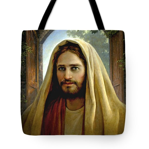Keeper Of The Gate Tote Bag by Greg Olsen