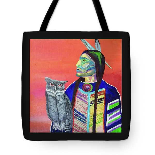 Keeper Of The Night Tote Bag by Brenda Pressnall