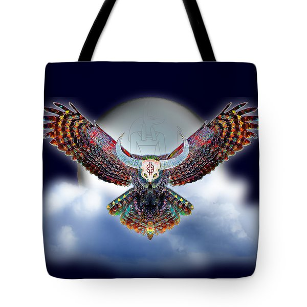 Keeper Of The Night Tote Bag by Iowan Stone-Flowers