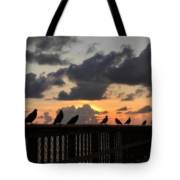 Keeper Of The Pier Tote Bag