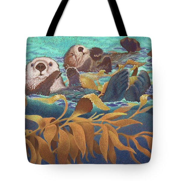 Keepers Of The Kelp Tote Bag by Tracy L Teeter