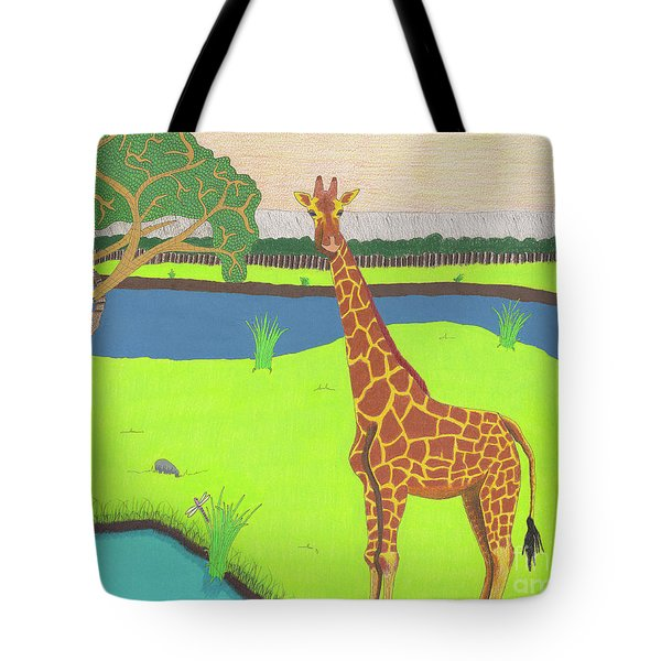 Keeping A Lookout Tote Bag