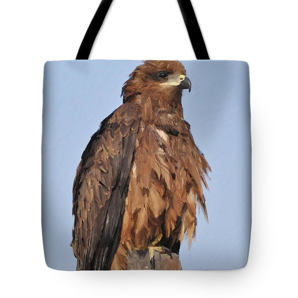 Keeping An Eye On The Enemy Tote Bag