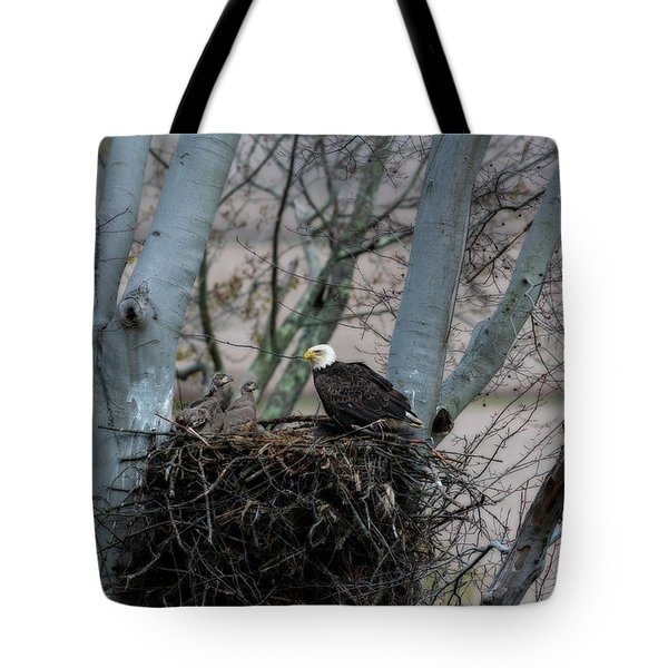 Keeping Eye On The Little Ones Tote Bag