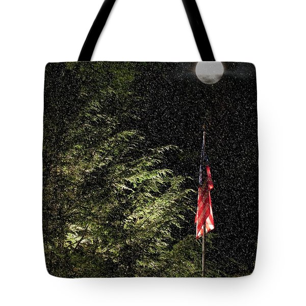 Keeping America  Illuminated.  Tote Bag