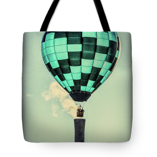 Keeping Warm As You Float Tote Bag by Bob Orsillo