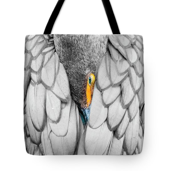 Keeping Warm. Tote Bag