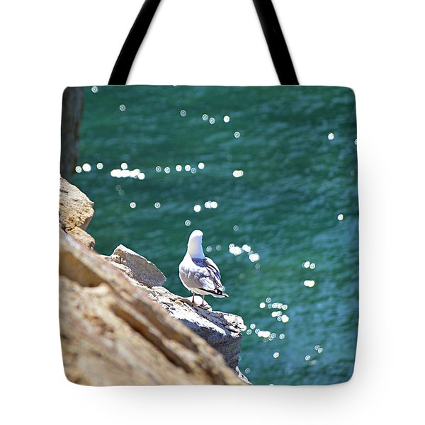 Tote Bag featuring the photograph Keeping Watch by SimplyCMB