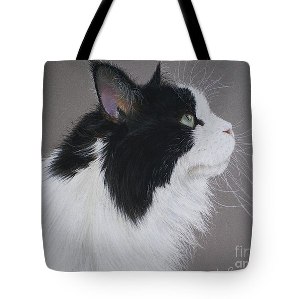 Keeps - Maine Coon Tote Bag by Joanne Simpson