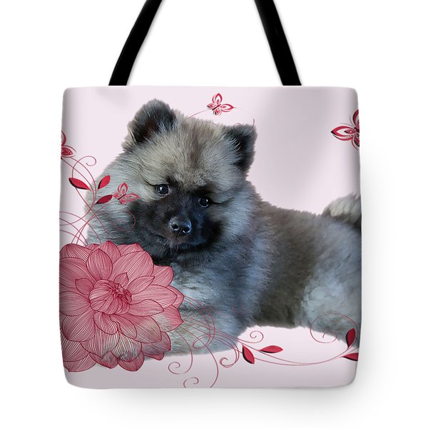 Keeshon's Flower Tote Bag