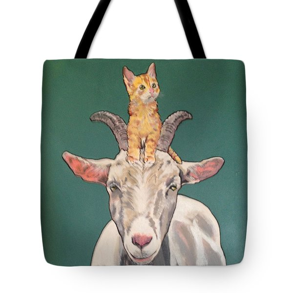 Keira The Kitten Tote Bag
