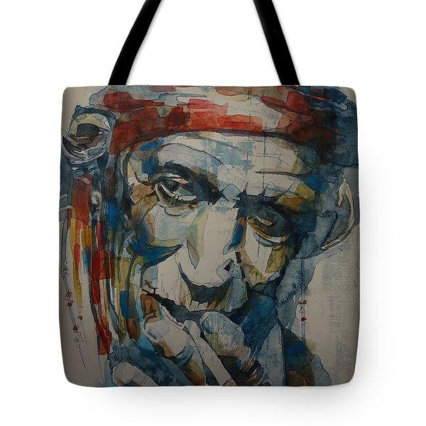 Keith Richards Art Tote Bag