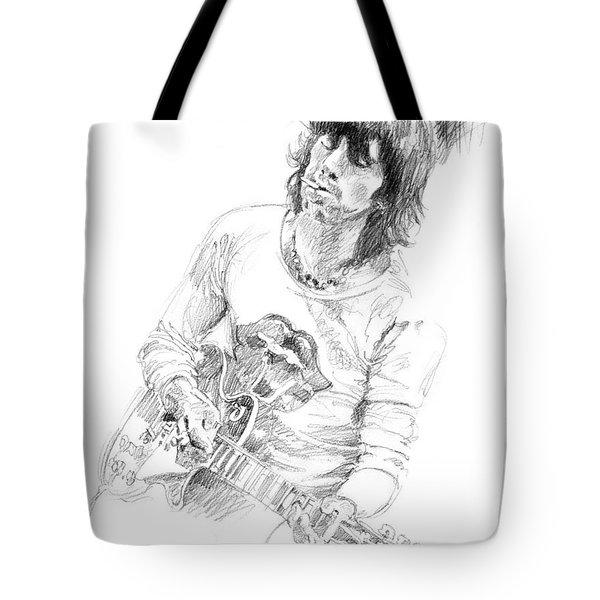 Keith Richards Exile Tote Bag