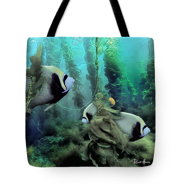 Kelp And Queen Anglefish Tote Bag