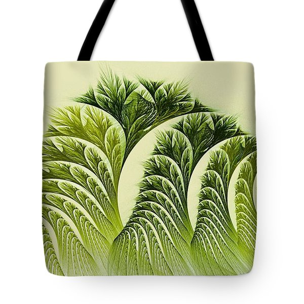Kelp Towers Of The Fractal Sea Tote Bag