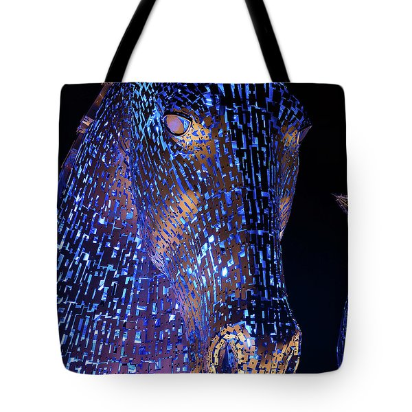 Kelpies Scotland Tote Bag