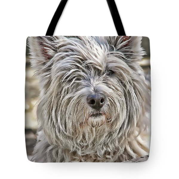 Tote Bag featuring the photograph Kelsey by Rhonda McDougall