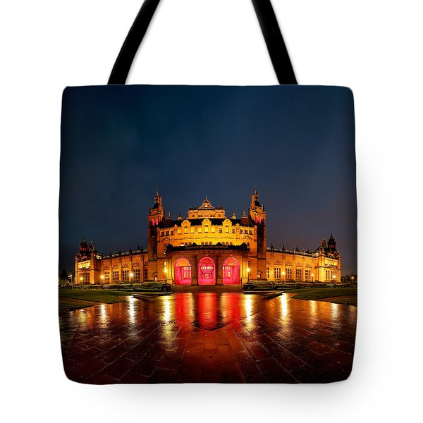 Kelvingrove Art Gallery Night Tote Bag by Grant Glendinning