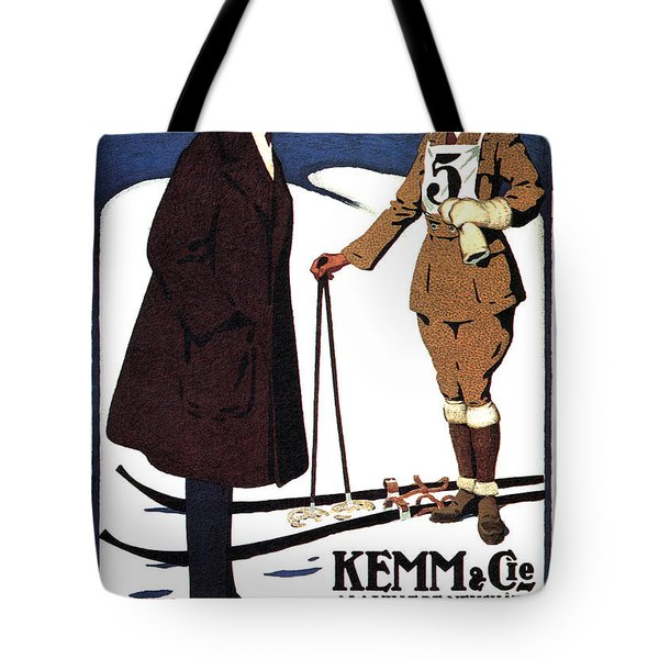 Kemm And Cie - Tailors And Clothing Merchants - Vintage Advertising Poster Tote Bag