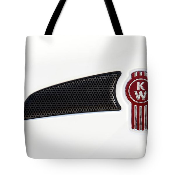 Ken Worth White Tractor 041418 Tote Bag