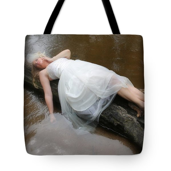 Tote Bag featuring the photograph Kena In Trash The Dress by John King
