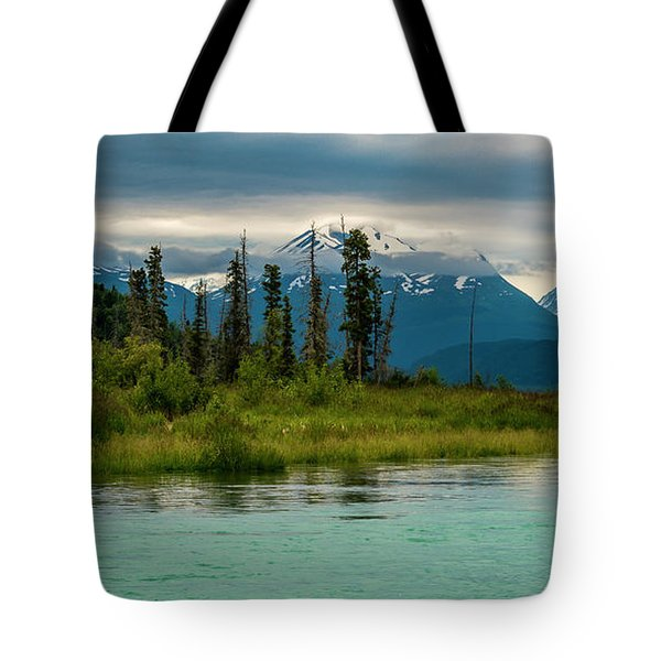 Tote Bag featuring the photograph Kenai by Gary Lengyel