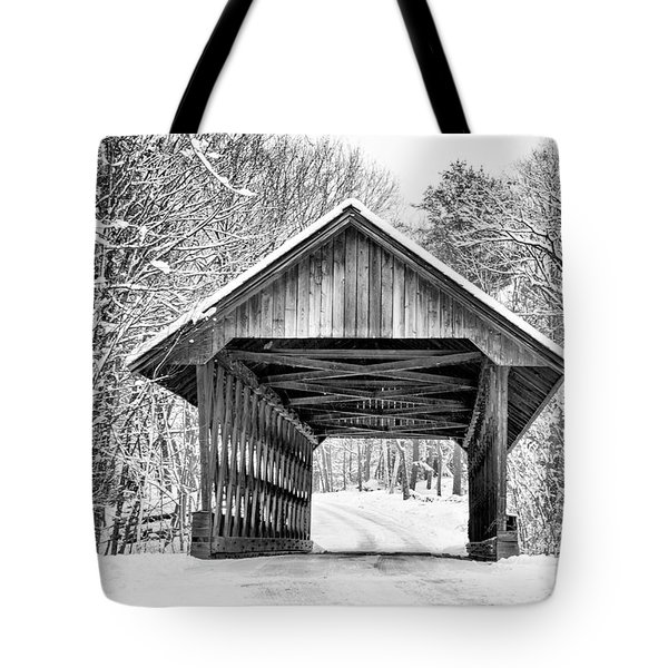 Keniston Covered Bridge  Tote Bag