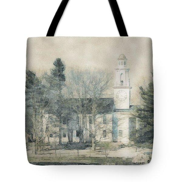 Kennebunkport Church Tote Bag