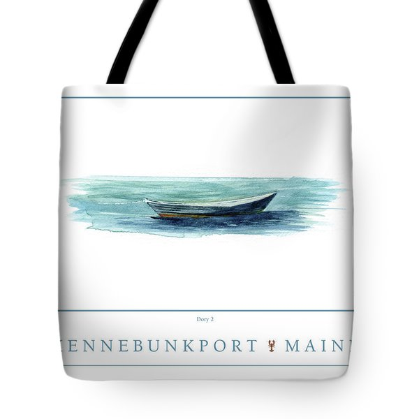 Kennebunkport Dory 2 Tote Bag