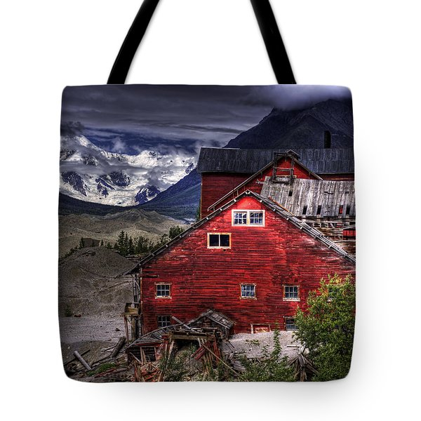 Kennecott Mine  Tote Bag