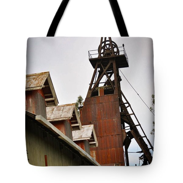 Kennedy Mine Headframe Tote Bag