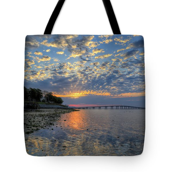 Kennedy Park Sunrise Tote Bag